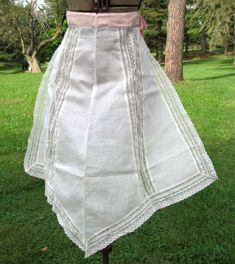 Vintage apron from the 1920's.