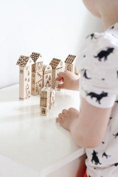 DIY Wood Burned Toy Blocks, Ukkonooa