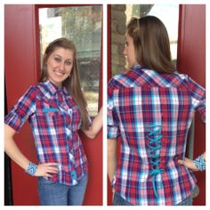 Love the back of this new Southern Thread button up!  Southern Thread Austin, TX.