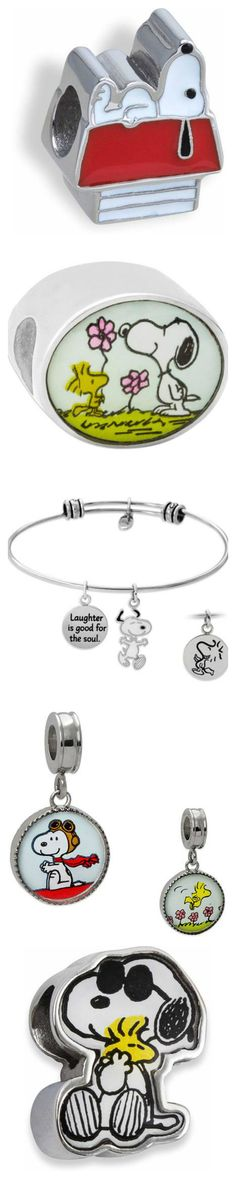 Snoopy has always been a real charmer! Now you can add him to your favorite necklace, bracelet or other jewelry with charms. Start shopping at CollectPeanuts.com to help support our site.