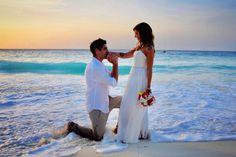 "Romana Settanni on Instagram: ""#beachwedding#sunset#likeafairytale#truelove#forevertogether#bestmoments#pictureoftheday#bride#groom…"" Wedding Outfits For Groom, Wedding Groom, Bride Groom, Beach Groom, White Dress, Sunset, Instagram, Dresses, Fashion"