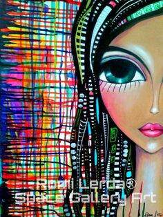 Romi Lerda - artista plastica Arte Pop, Art Journal Inspiration, Art Journal Pages, Painting Patterns, Art Plastique, Types Of Art, Face Art, Mixed Media Art, Painting & Drawing