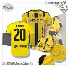 Maillots-Sport: Le Nouveau Maillot Du Dortmund BVB Ramos 20 Domicile 2016 2017