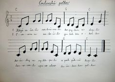 images about flétna noty Kids Songs, Advent, Sheet Music, Teaching, Montessori, Crochet, Nursery Songs, Ganchillo, Education
