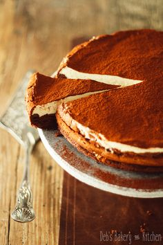 Koffie mousse taart • Deb's Bakery & Kitchen Dutch Recipes, Sweet Recipes, Bakery Recipes, Cooking Recipes, Cheesecakes, Tiramisu, Baking Bad, Bakery Kitchen, Sweet Pie