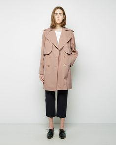 carven classic trench
