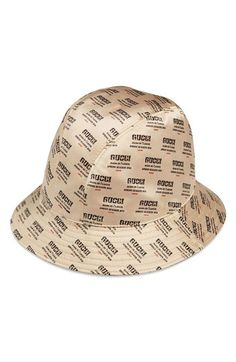 Looking for Gucci Stamp Logo Bucket Hat   Check out our picks for the Gucci  Stamp Logo Bucket Hat from the popular stores - all in one. 7659deba59a3