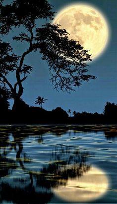 Moon Reflection