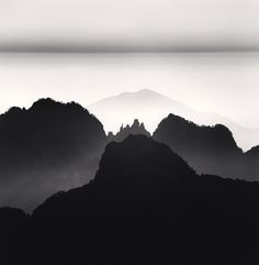 Huangshan,by Michael Kenna