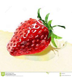 Erdbeeren Postcard Art Kunstkarte Renoir