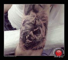 Tiger Tattoo , Artist@Dominik Szymkowiak, Art Line Tattoo Poznan