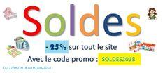 -25% sur tout le site avec le code SOLDES2018