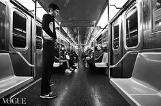 nyc subway (Vogue) by louis konstantinou, via Flickr