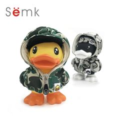 16cm Duck Action Figure Duck Doll PVC Vinyl  Money Box Cute Home Decor Best Gifts for Kids Semk Duck Toys