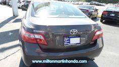 USED 2007 TOYOTA CAMRY 4DR SDN I4 AUTO LE at Milton Martin Honda Used #P2044A