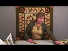 Deb shows you how to use this fast, fun, and easy technique to create beautiful Migrating Geese rows for your quilts and borders! Technique Sheet available f. Quilting Rulers, Quilting Tips, Quilting Tutorials, Star Quilts, Scrappy Quilts, Baby Quilts, Half Square Triangle Quilts Pattern, Square Quilt, Quilt Blocks Easy
