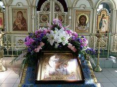 Large Flower Arrangements, Church Flowers, Christian Art, Funeral, Altar, Holi, Floral Wreath, Wreaths, Decor