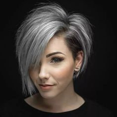 Are you looking for the most flattering short grey hair color ideas and styles? - haarschnitte Are you looking for the most flattering short grey hair color ideas and styles? Short Hair Cuts For Women, Short Hairstyles For Women, Short Haircuts, Grey Hair Styles For Women, Hairstyles Haircuts, Hairstyle Short, Short Hair For Round Face Plus Size, Funky Hairstyles, Long Pixie Hairstyles