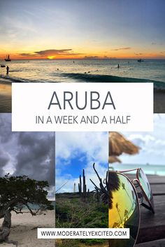 A travel guide to seeing the best of Aruba - what to eat, where to stay and things you absolutely have to do (and what you can miss) on your next Aruba vacation!