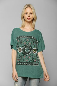 Truly Madly Deeply Folk Tale Triblend Tee