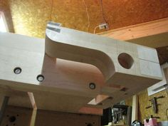 Workbench #13: Tail Vise Is Complete - by CartersWhittling @ LumberJocks.com ~ woodworking community