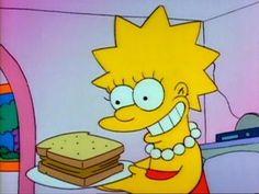 Lisa smiling.