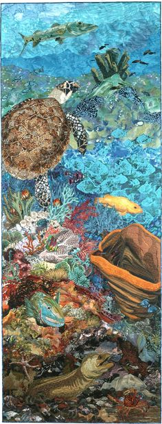 Up from the Depths -amazing quilting