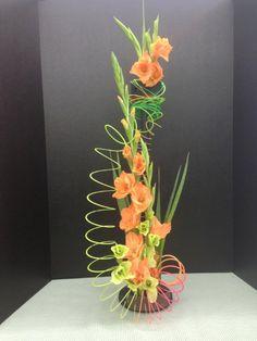 Dahlia Best of Show Missoula Montana Designed by James Sadler Modern Floral Arrangements, Beautiful Flower Arrangements, Silk Flower Arrangements, Beautiful Flowers, Deco Floral, Arte Floral, Home Flowers, Fresh Flowers, Flowers Garden