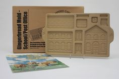 Vintage Pampered Chef Stoneware Gingerbread House Kit #1800 from ...