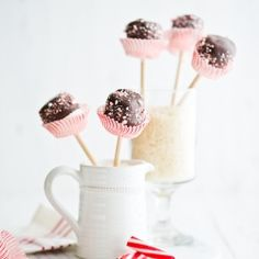 #Chocolate #Peppermint #Marshmallow #Pops