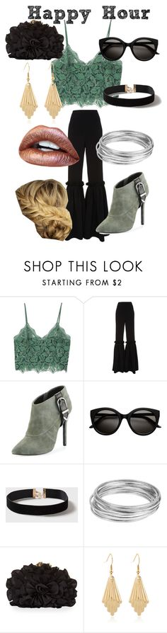 """""""Happy Hour- 2"""" by angie-clements ❤ liked on Polyvore featuring MANGO, Christian Siriano, Charles David, Dorothy Perkins, Worthington and Franchi"""