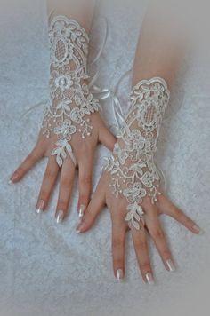 unique Original design Wedding Gloves
