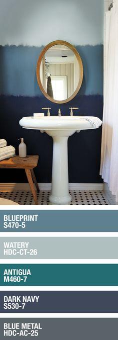 Bath room design plan color schemes 43 ideas for 2019 Bedroom Paint Colors, Interior Paint Colors, Paint Colors For Home, Paint Colours, Monochromatic Color Scheme, Bathroom Wall Decor, Bathroom Furniture, Interior Decorating, Interior Design