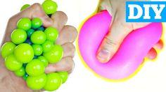 BAKING SODA STRESS BALLS   EASY DIY Squishy Stress Ball