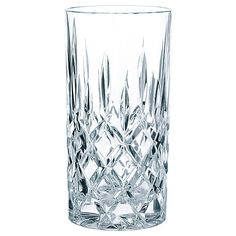 Nachtmann Noblesse whisky glas - magasin til Flemming Cut Glass, Glass Vase, Whisky Tumbler, Long Drink, Whiskey Glasses, Highball Glass, Dining Decor, Noblesse, Krystal