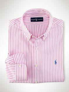 4872b030db383 Custom-Fit Bengal Stripe - Polo Ralph Lauren Custom Fit - Ralph Lauren UK