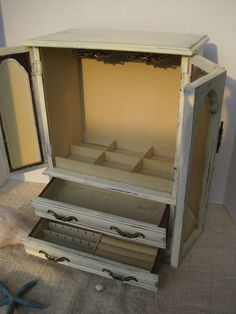 Stand Alone Jewelry Box 28 Best Shabby Jewelry Boxes Images On Pinterest  Jewel Box