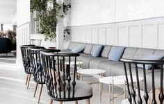 The Standard Restaurant Nub Lounge chair
