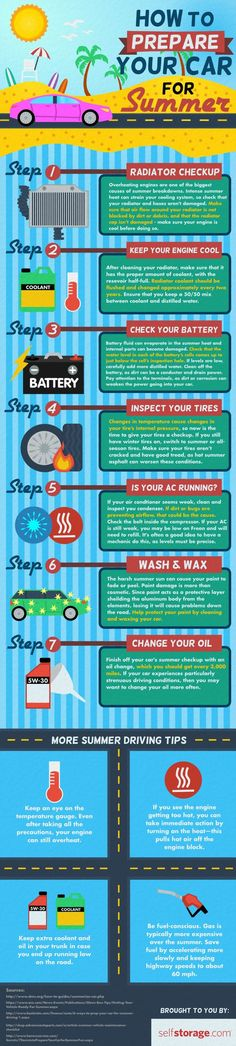 prep your car for summer