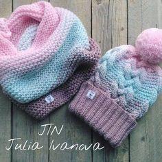 505 отметок «Нравится», 3 комментариев — JIN Вязание◾Кардиган ◾ Свитер (@juli_jin) в Instagram: «Комплекты в наличии и на заказ шапка 55-60 см + снуд 30*50 см. шерсть/шёлк/полиамид .…»