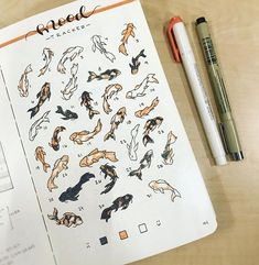 30 Unique Bullet Journal Mood Tracker Ideas to Keep You Mentally Equipped - The. 30 Unique Bullet Journal Mood Tracker Ideas to Keep You Mentally Equipped - The Thrifty Kiwi - Bullet Journal Tracker, Bullet Journal Aesthetic, Bullet Journal Notebook, Bullet Journal Ideas Pages, Bullet Journal Spread, Bullet Journal Layout, Bullet Journal Inspiration, Bullet Journals, Carpe Koi