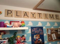 Toy Story Themed Baby Boy Nursery