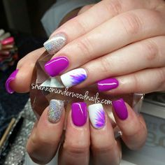 Shannon Underwood Nails: Simple Striping Brush Nail Art (Video)