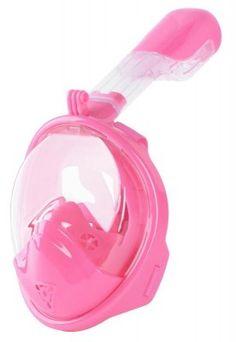 Maska šnorchlovacia Dory, celotvárová, pre deti 4+, XS, ružová Dory