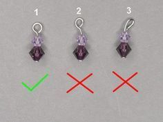How To Make A Perfect Simple LoopFree Diy Jewelry Projects   Learn how to make jewelry - beads.us