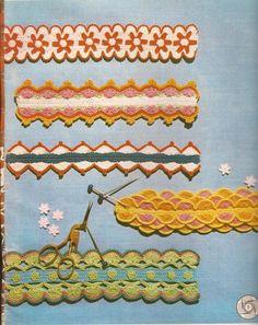 Encajes a Crochet