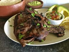 Looking for a quick and easy grilled carne asada recipe? Try the Best Carne Asada Recipe Ever! Restaurant quality carne asada perfect for tacos, burritos, nachos, salads, etc. fabulous for family dinner or for crowds! Best Carne Asada Recipe, Copycat Recipes, Burritos, Nachos, Mexican Food Recipes, Grilling, Salads, Restaurant, Beef