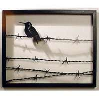 Barbed wire-reused                                                       …                                                                                                                                                                                 More