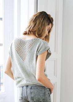 Knitting Kit Pima Cotton Blanca Julep Tee 4