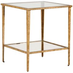 Chelsea House Carson Gold End Table